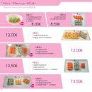 Menu Paradise Sushi - Menus midi