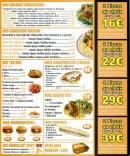 Menu Pica Pizza - Les salades frîcheurs, couscous maison...
