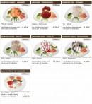 Menu Sushi wako - les sashimis