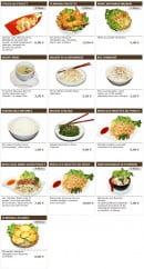 Menu Sushi wako - Les hors d'oeuvres