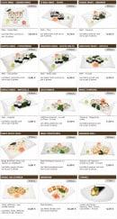 Menu Sushi wako - Les makis