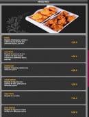 Menu Lassani - Entrées frites
