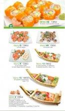 Menu Sushi Ren - Les Menus suite