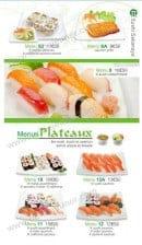 Menu Sushi Ren - Les Menus Plateaux