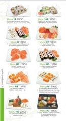 Menu Sushi Ren - Les Menus