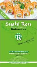 Menu Sushi Ren - carte et menu sushi ren noisy