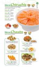 Menu Sushi Ren - Les Menus Chirashis et Menus Chauds