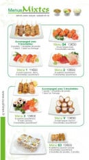 Menu Sushi Ren - Les Menus Mixte
