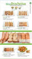Menu Sushi Ren - Les Menus Brochettes