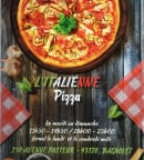 Menu L'italienne pizza - Carte et menu L'italienne pizza Bagnolet