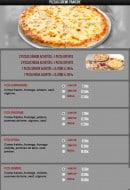 Menu Pasta Nova - Les pizzas crème fraîche 1