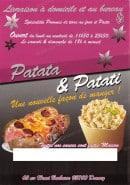 Menu Patata & Patati - Patati et patata drancy menu et carte