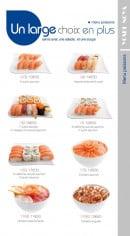 Menu Yoshinoya - Les menus poissons(suite)
