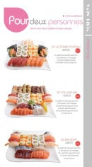 Menu Yoshinoya - Les menus plateaux