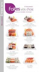 Menu Yoshinoya - Les menus poissons