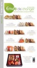 Menu Yoshinoya - Les menus mixtes