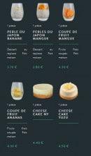 Menu Sushi soba - Les desserts page 2