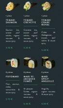 Menu Sushi soba - Les témakis et makis rolls page 2