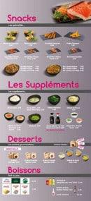 Menu Sushi VIP - Les snacks, les suppléments,......