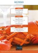 Menu L'Aquarium - Le menu à 95€ suite