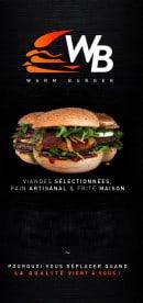 Menu Warm Burger - Carte et menu Warm Burger Bonneuil sur Marne