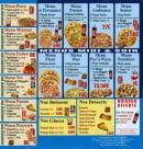 Menu Allo pat a Pizza - Les menus, boissons, desserts et glaces
