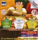 Menu Allo pat a Pizza - Carte et menu Allo pat a Pizza Argenteuil