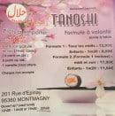 Menu Tanoshi - Carte et menu Tanoshi Montmagny