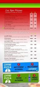 Menu Antillais food - Les autres pizzas