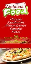 Menu Antillais food - La carte et menu Antillais food Fort de France