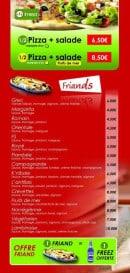 Menu Antillais food - Les friands