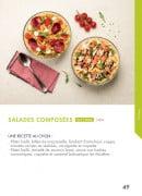 Menu class'croute - salades composées