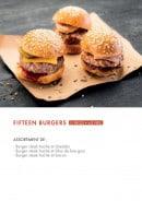 Menu class'croute - Fifteen burgers