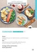 Menu class'croute - Poisson - scandinave