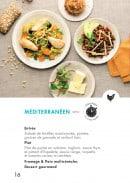 Menu class'croute - Poulet - méditerranéen