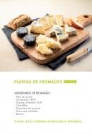 Menu class'croute - Plateau de fromages