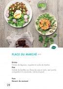 Menu class'croute - Végétarien - place du marché