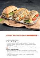 Menu class'croute - Coffret mini sandwichs