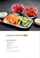 Menu class'croute - Les plateaux crudités