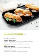 Menu class'croute - Mini Moricettes