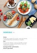 Menu class'croute - Poisson - nordique