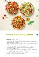Menu class'croute - Salades végétarienne