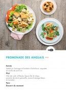 Menu class'croute - Poisson - promenade des anglais