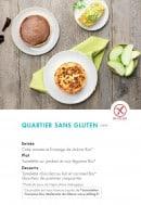 Menu class'croute - Quartier sans gluten