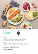 Menu class'croute - Poisson - suédois