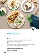 Menu class'croute - Poulet - napolitain