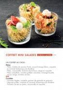 Menu class'croute - Coffret mini salade
