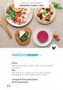 Menu class'croute - Poulet - marocain