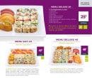 Menu Eat Sushi - les menus deluxes 20