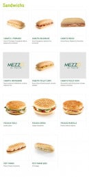 Menu Mezzo Di Pasta - Sandwichs